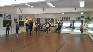 Tanzunterricht bei Caroline Rocher
